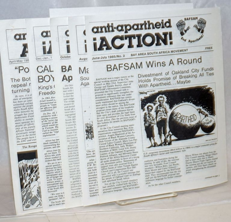 Anti-Apartheid Action! [five issues]