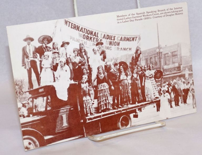 A Social and Cultural History of the Mexican Community of Los Angeles, 1781-1981 [postcard] a colloquium and photographic exhibit May 15 - 16, 1981, East Los Angeles College