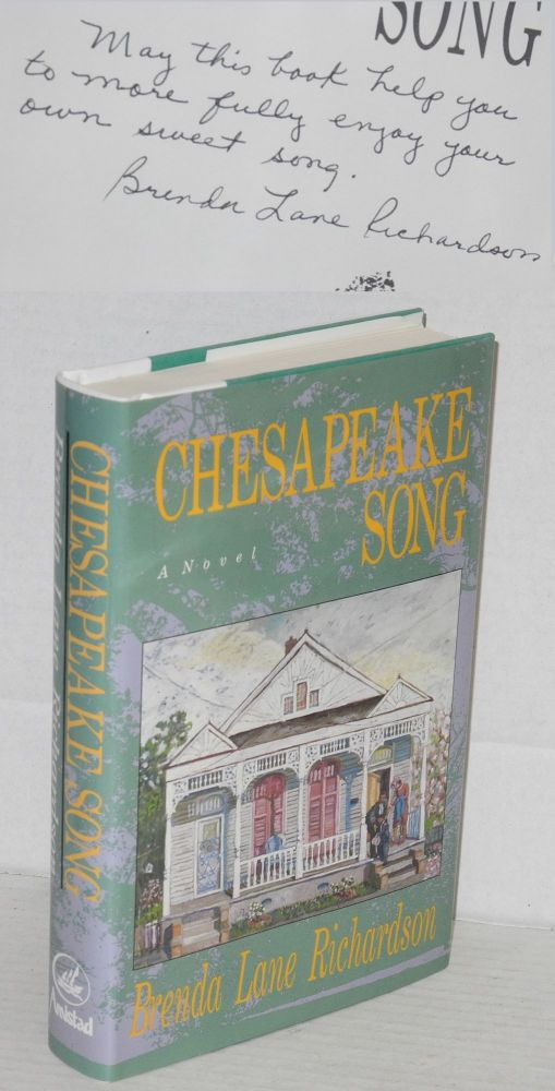 Chesapeake song; a novel. Brenda Lane Richardson.