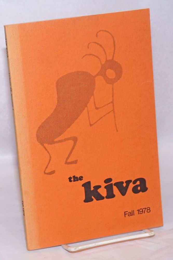 The Kiva. Vol. 44 no. 1 (Fall 1978)