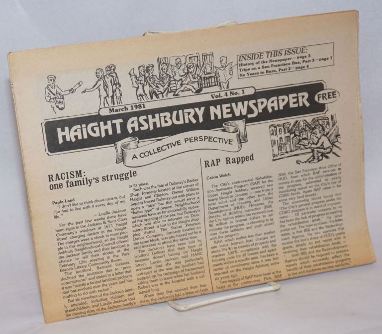 Haight Ashbury Newspaper: A Collective Perspective; Vol. 4, No. 1, March 1981
