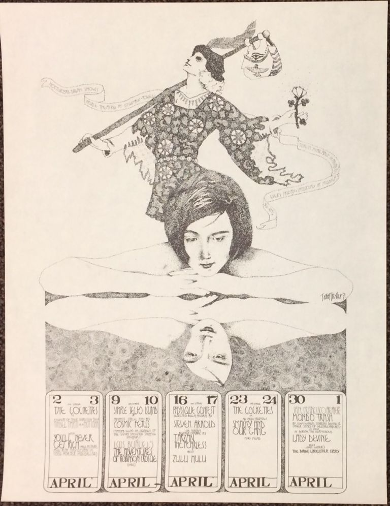 Nocturnal Dream Shows / Palace Theatre at Columbus and Powell... On stage: the Cockettes ... [poster]. Todd Trexler, artist.