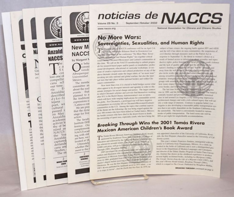 Noticias de NACCS [7 issues]. C. Alejandra Elenes, Kathryn Blackmer Reyes, Carlos R. Guerrero, and.