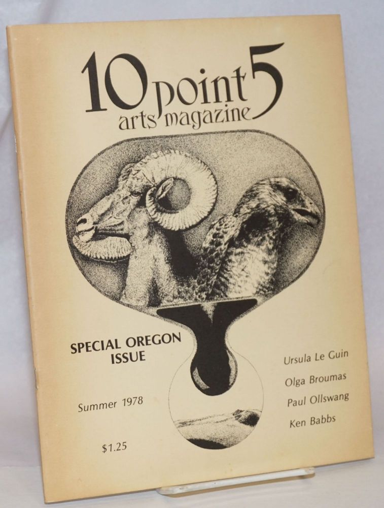 10 Point 5: a magazine of the arts; Summer 1978: Special Oregon Issue