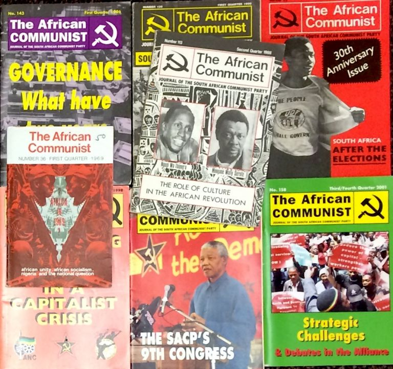 The African Communist [67 different issues]