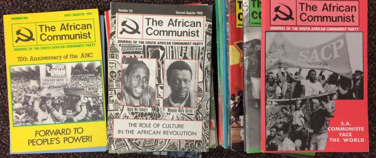The African Communist [27 different issues]