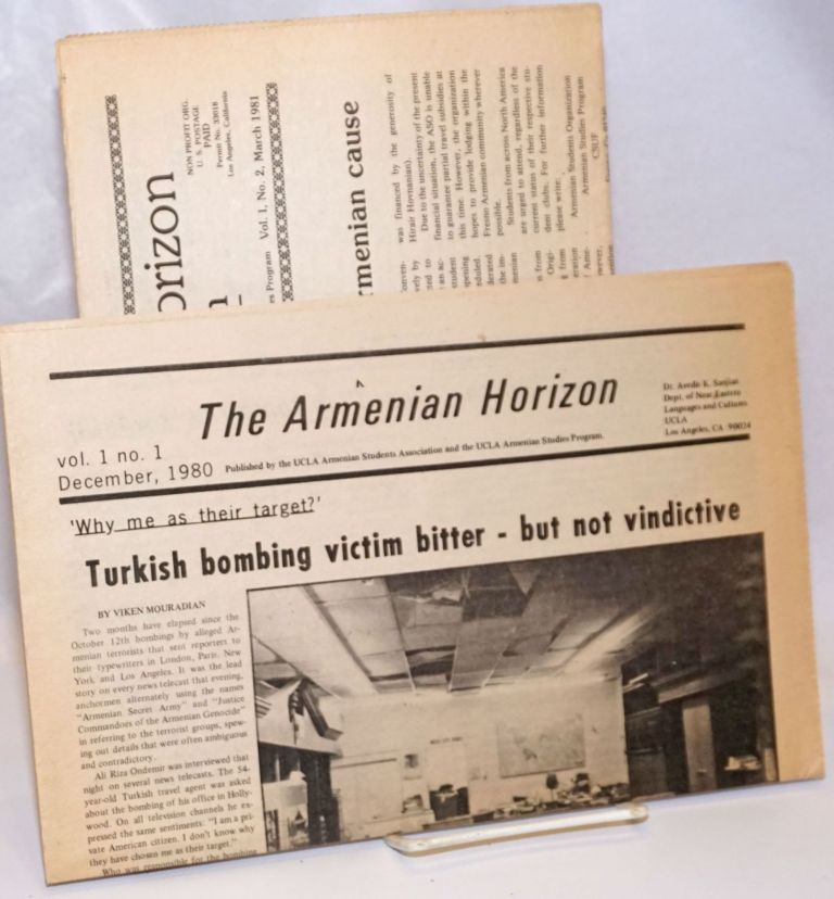 The Armenian horizon [issues 1 and 2]
