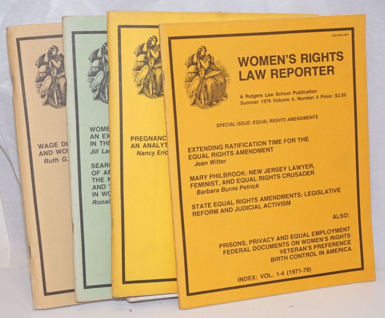 Women's Rights Law Reporter [four issues]