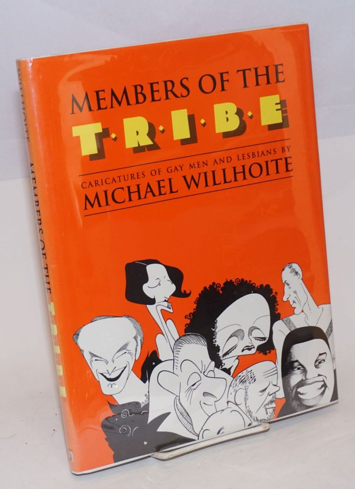 Members of the tribe; caricatures of gay men and lesbians. Michael Willhoite.