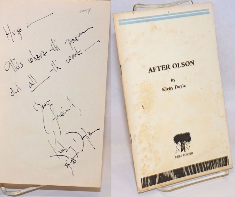After Olson [signed]. Kirby Doyle.