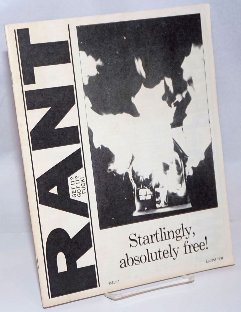 Rant. Issue 1 (August 1994)