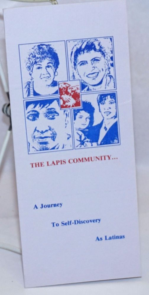 The LAPIS Community . . . a journey to self-discovery as Latinas [brochure]