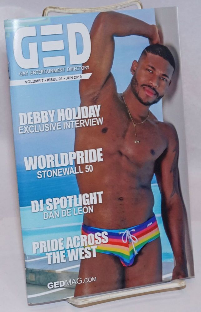 GED: Gay Entertainment Directory vol. 7, #01, June, 2019: Debby Holiday interview. Michael Westman.