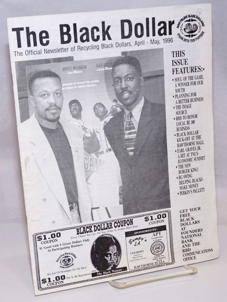 The Black Dollar: the official newsletter of Recycling Black Dollars (April-May, 1996)