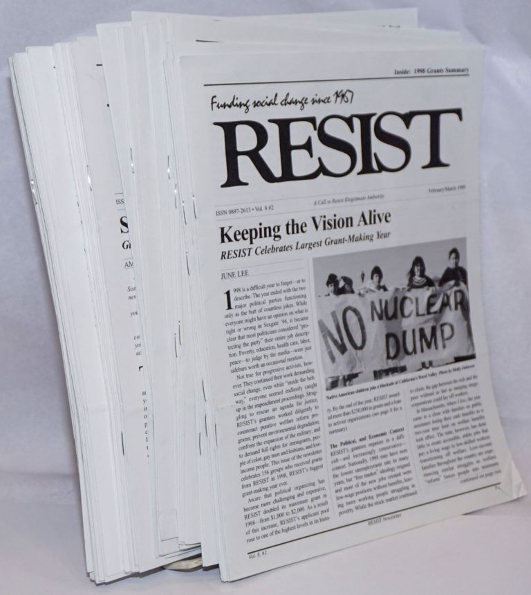 Resist: A call to resist illegitimate authority. [44 issues]