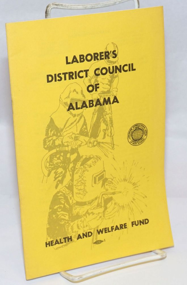Health and welfare fund. Laborer's District Council of Alabama.