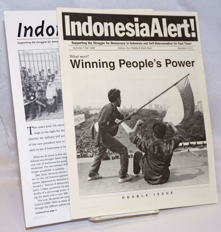Indonesia alert! [two issues]