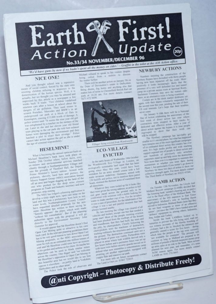 Earth First! Action Update; No. 33/34 November/December 96