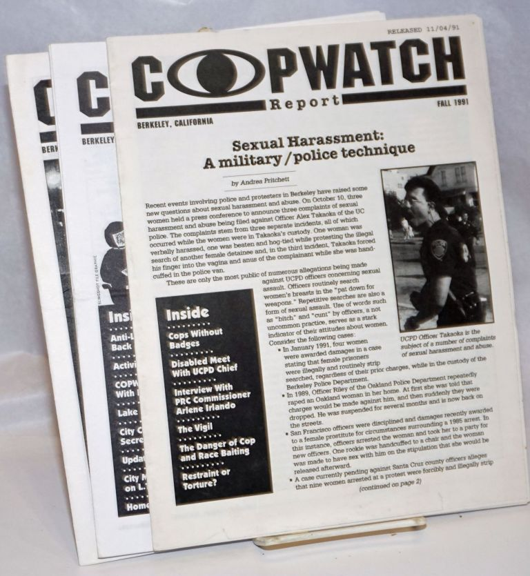 Copwatch Report [four issues]
