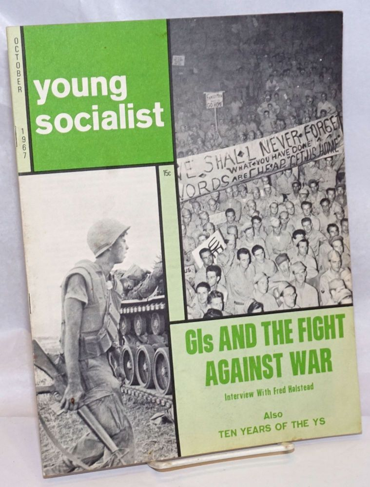 Young socialist, volume 11, number 1 (79), October 1967. Young Socialist Alliance.