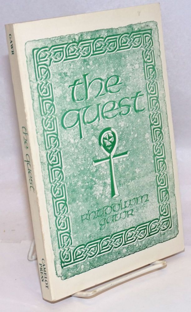 The Quest, A Search for the Grail of Immortality. Illustrations by Craig Hamilton and Bill Wheeler. Rhuddlwm Gawr, Marcy Edwards.