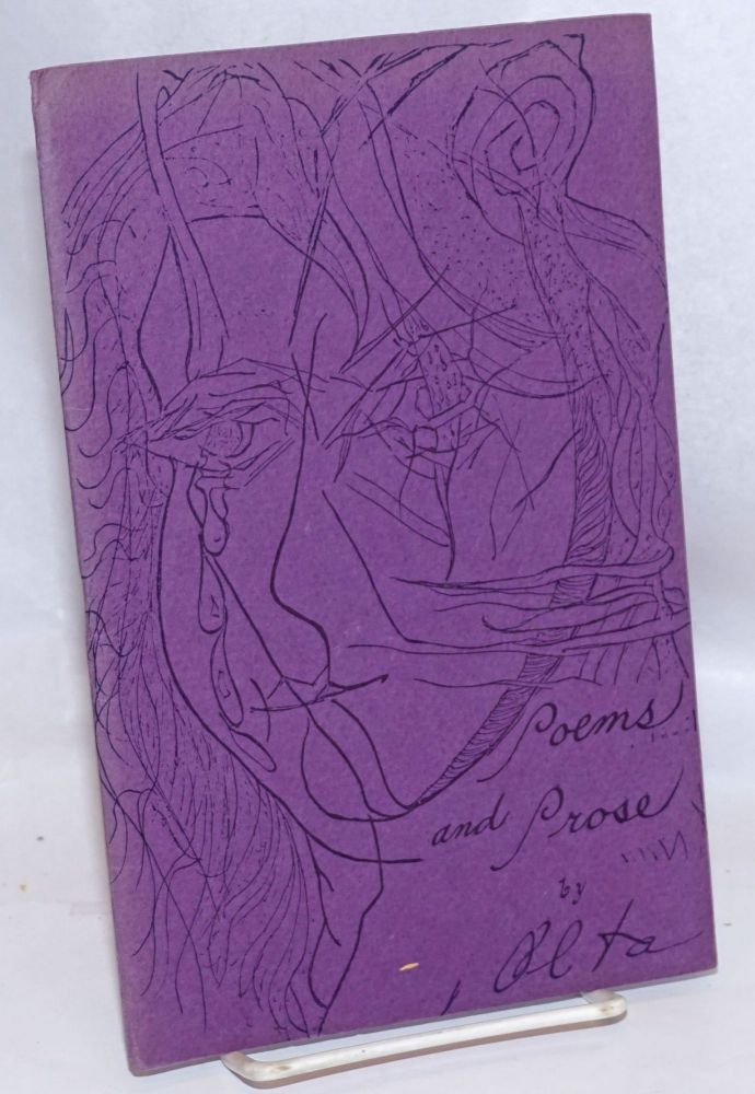 Poems and Prose volume 1, number 1. Alta, the Know Collective.