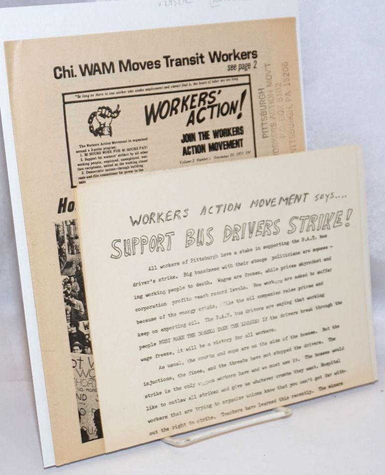 Workers' Action. Vol. 2 no. 3 (Dec. 20, 1973)