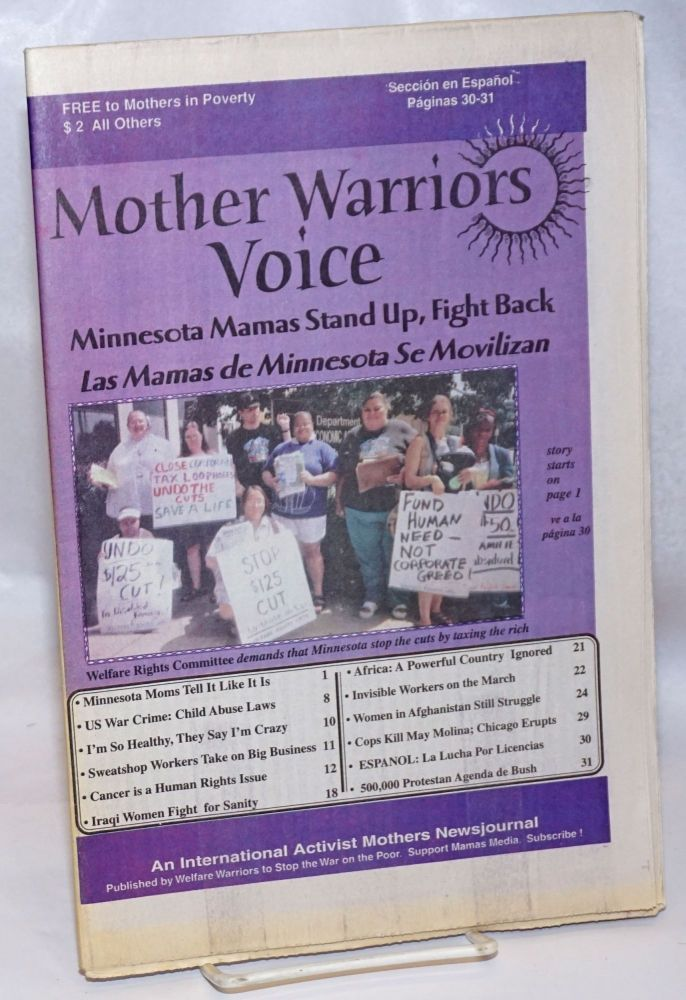 Mother Warriors Voice: Fall 2004