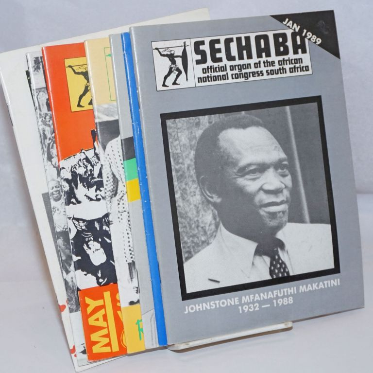 Sechaba: official organ of the African National Congress South Africa [6 issues]