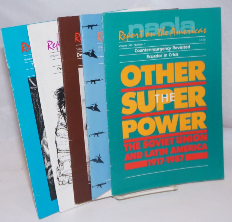 NACLA report on the Americas [5 issues]
