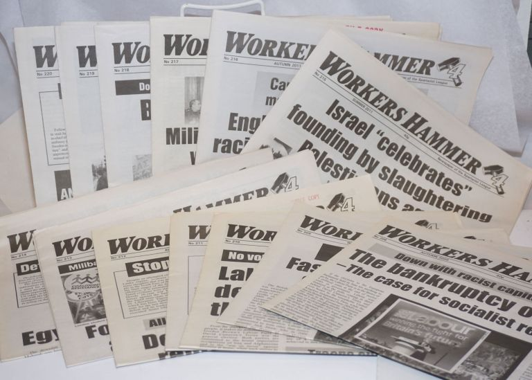 Workers Hammer: Newspaper of the Spartacist League[13 issues]