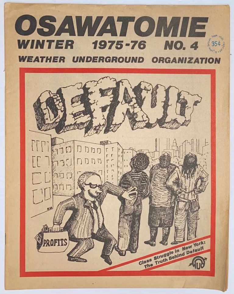 Osawatomie, vol. 1, no. 4, Winter 1975-76. Weather Underground Organization.