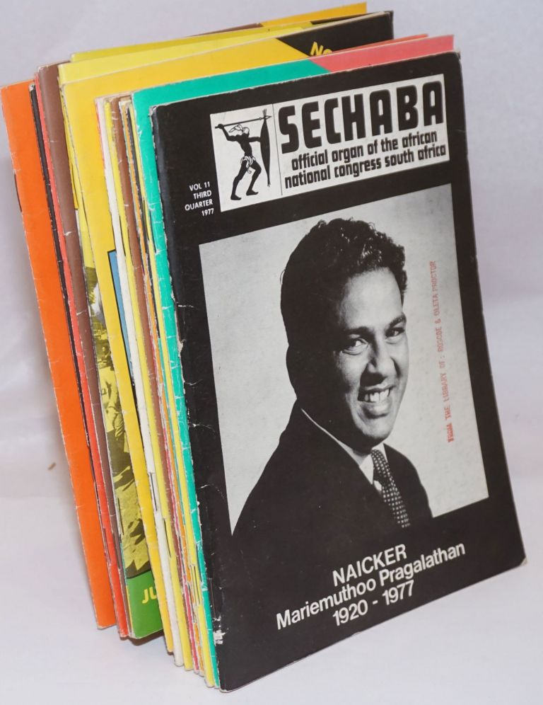 Sechaba [21 issues of the magazine]. Official organ of the African National Congress South Africa