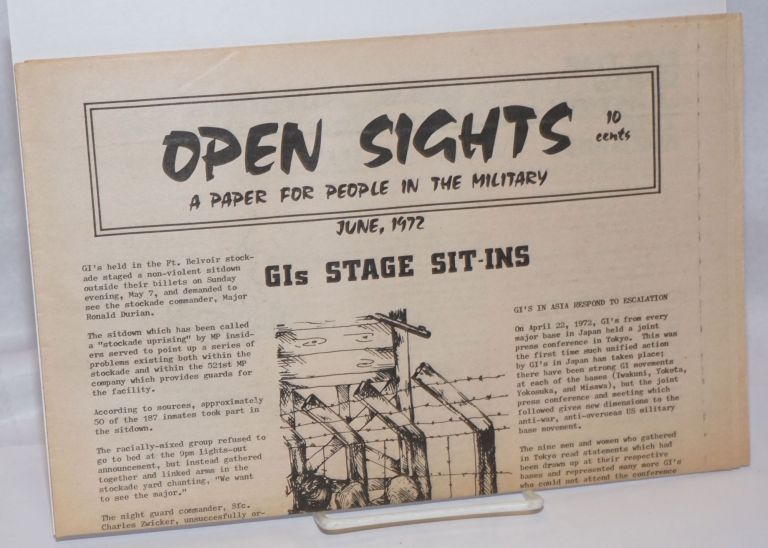 Open sights: a paper for people in the military. (June 1972)