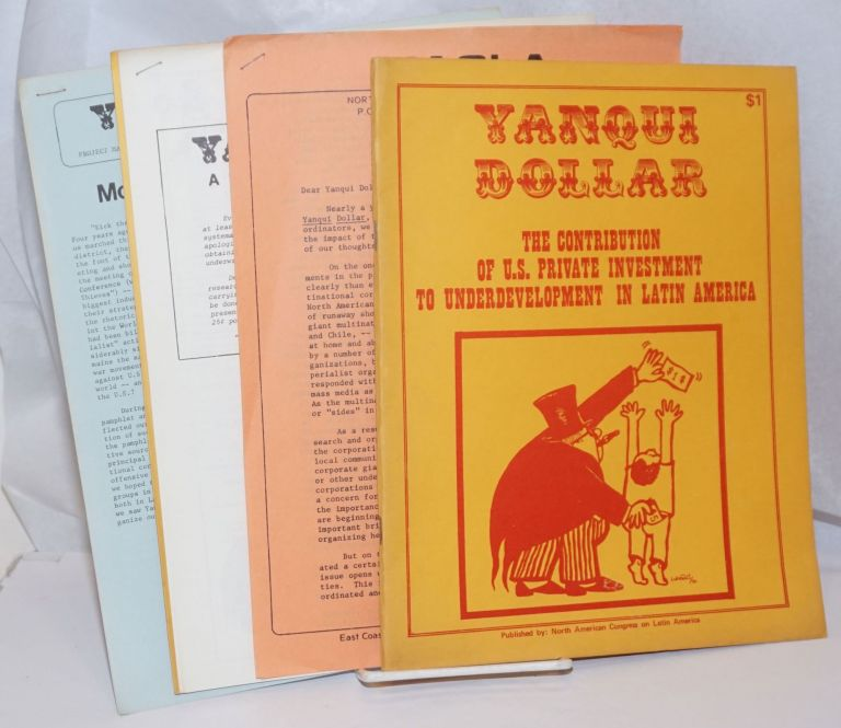 Yanqui Dollar [pamphlet, plus four mailings for participants in the Yanqui Dollar Project]