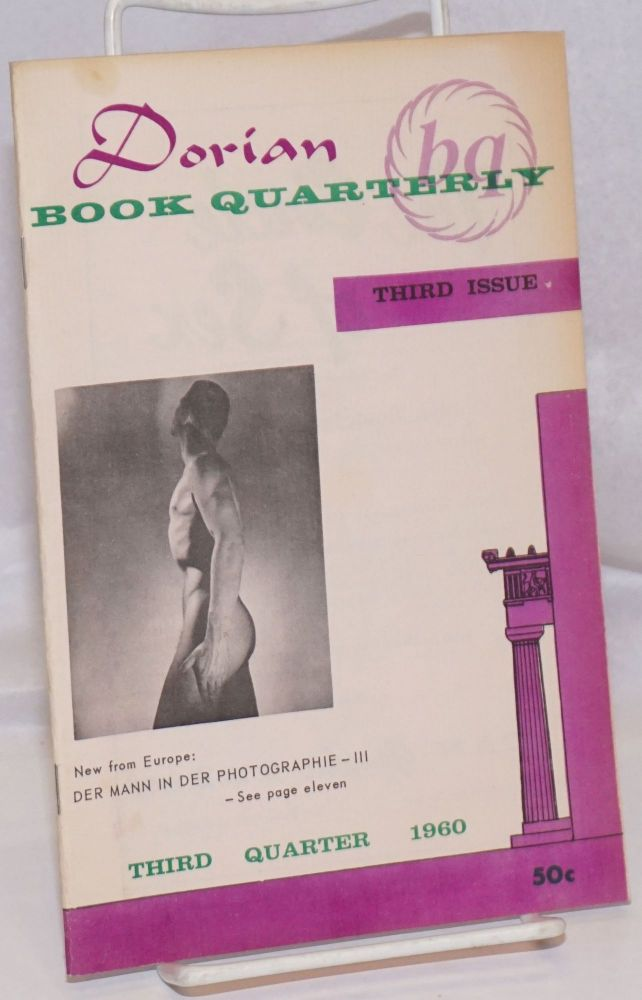 Dorian Book Quarterly: #3, vol. 1, #3, July 1960. Harold L. Donald S. Lucas Call, jr, Henry Foster, Hal.