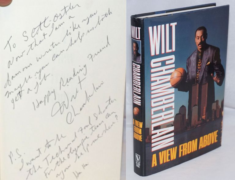A View from Above [inscribed and signed]. Wilt Chamberlain.