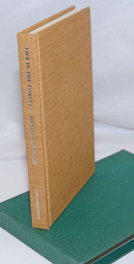 Life in the Forest signed slipcased limited edition. Denise Levertov.
