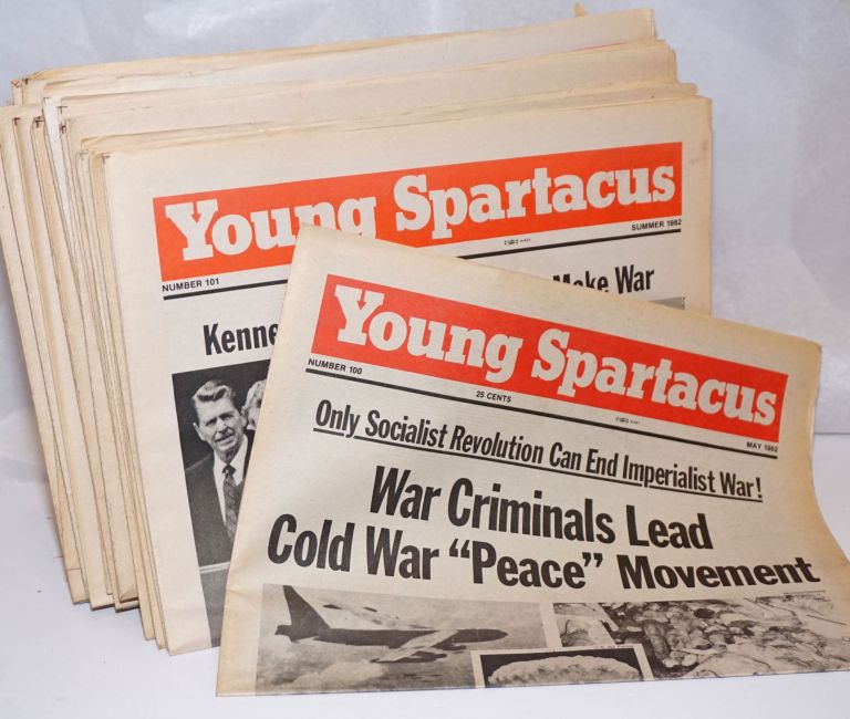 Young Spartacus [30 issues of the newspaper]. Bonnie Brodie, editorial board, J. Marlow Amy Rath, Dorthoy London, Ed Jarvis, and.