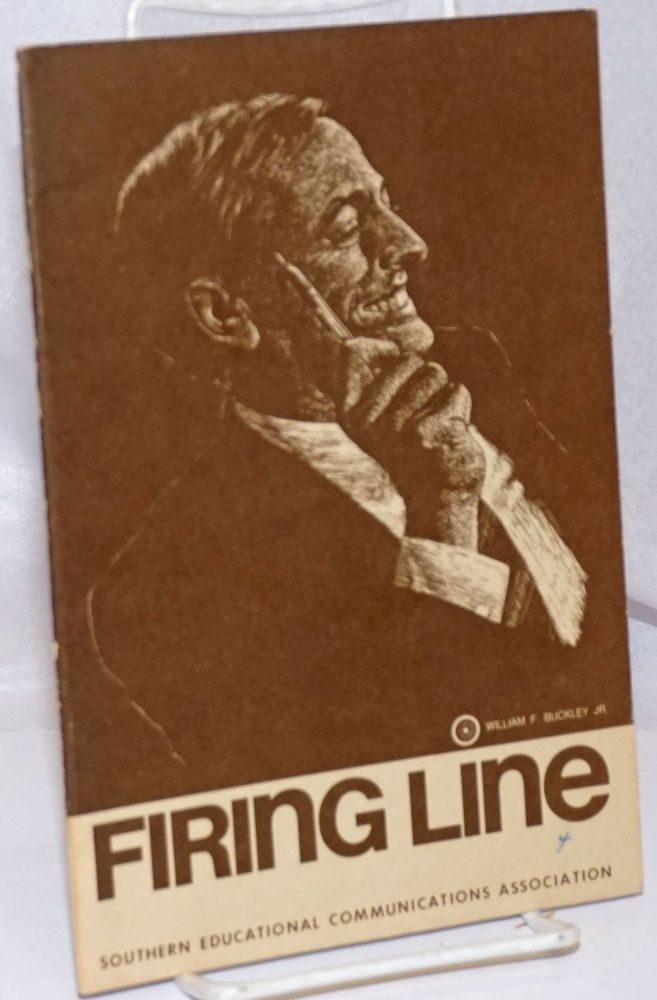 "Firing Line. Subject, ""Strike - In defiance of the law?"" William F. Buckley, Jr"