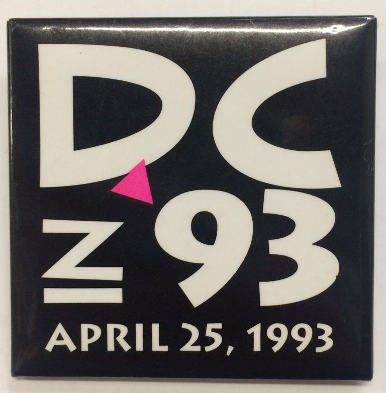 DC in 93 / April 25, 1993 [pinback button]