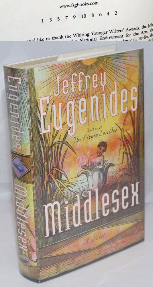 Middlesex: a novel. Jeffrey Eugenides.