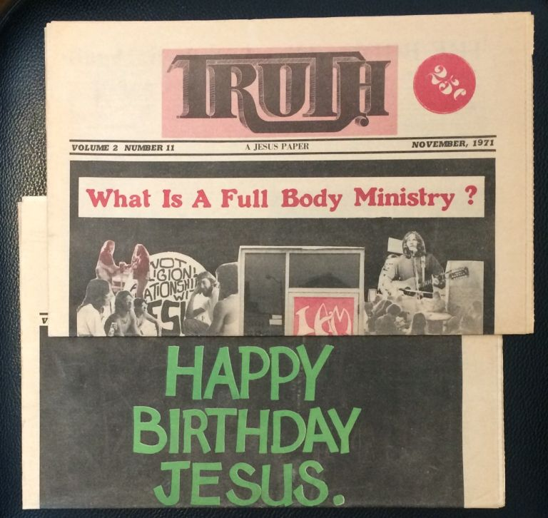 Truth: a Jesus paper [two issues]