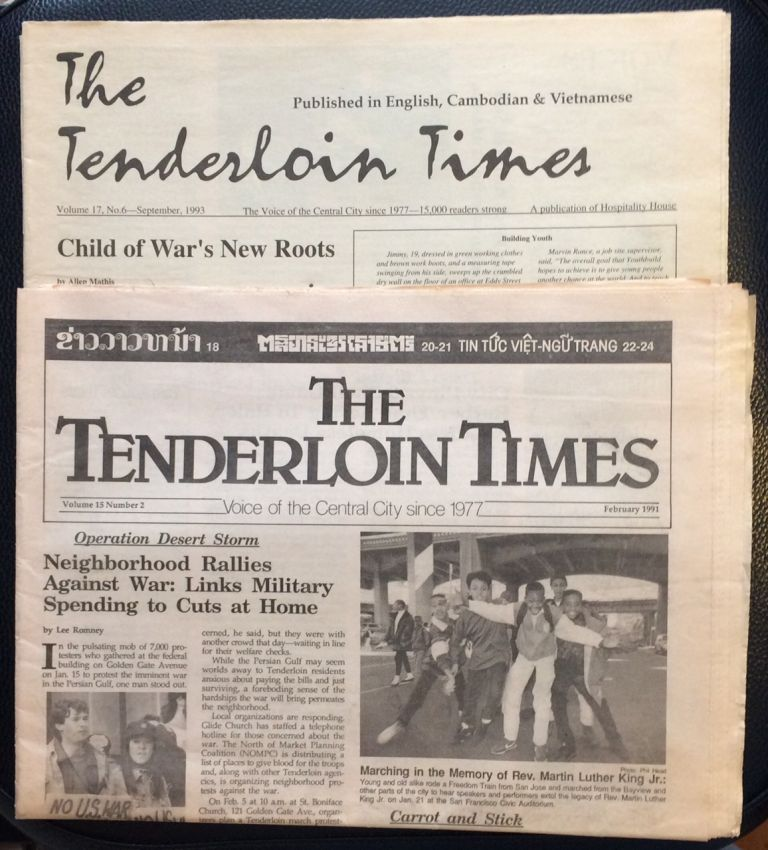 Tenderloin Times [two issues
