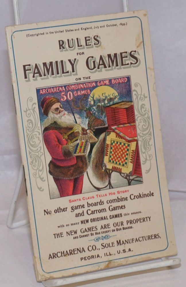 Rules for Family Games on the Archarena Combination Game Board