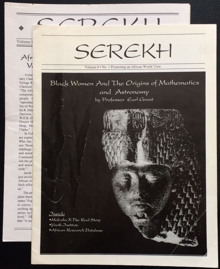 Serekh [two issues]