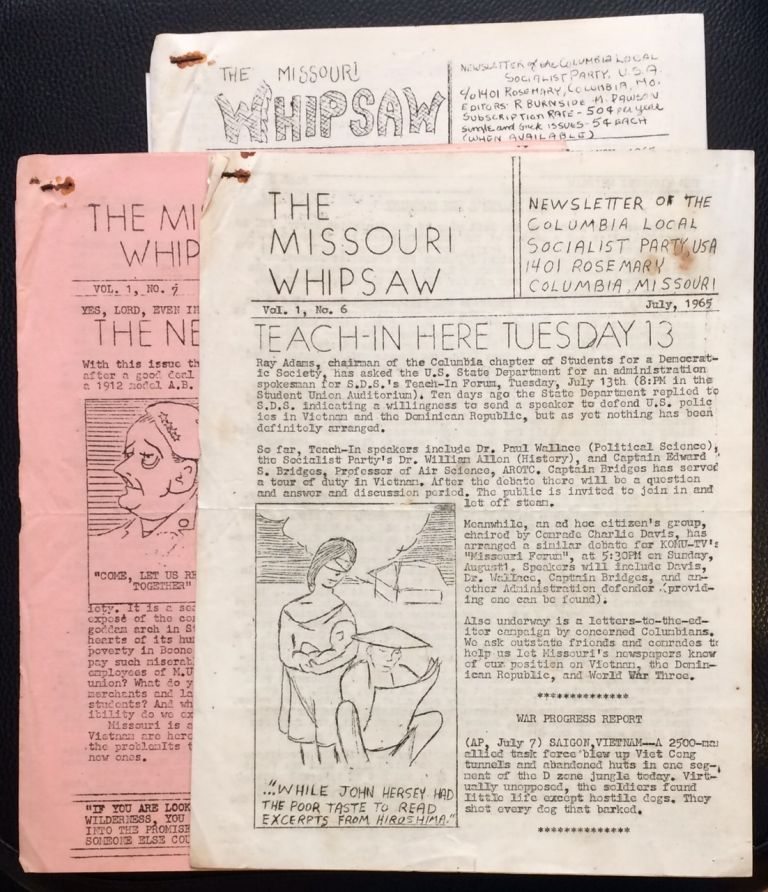 The Missouri Whipsaw [three issues]