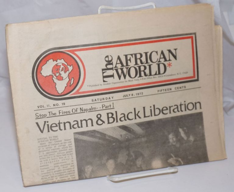 The African World. Vol. 2 no. 19 (July 8, 1972)