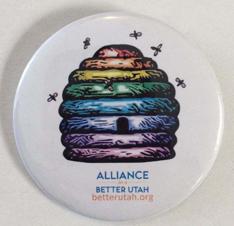 Alliance for a Better Utah [pinback button]