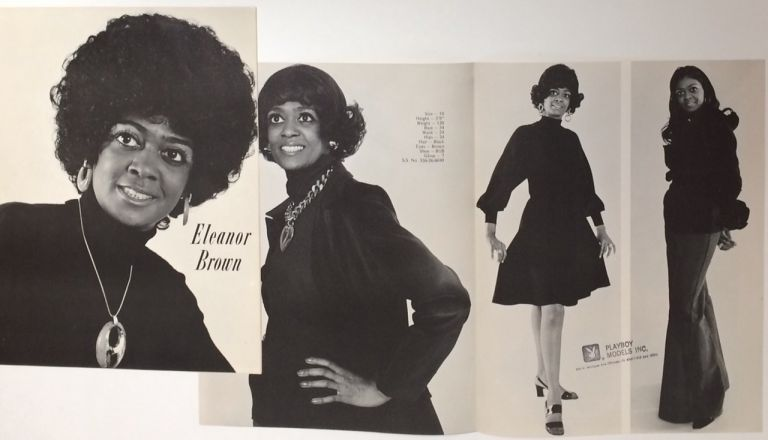 Eleanor Brown [promotional brochure for an African American model]. Eleanor Brown.